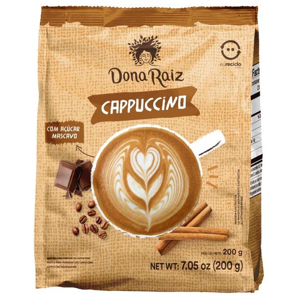 Cappuccino com Açúcar Mascavo 200g