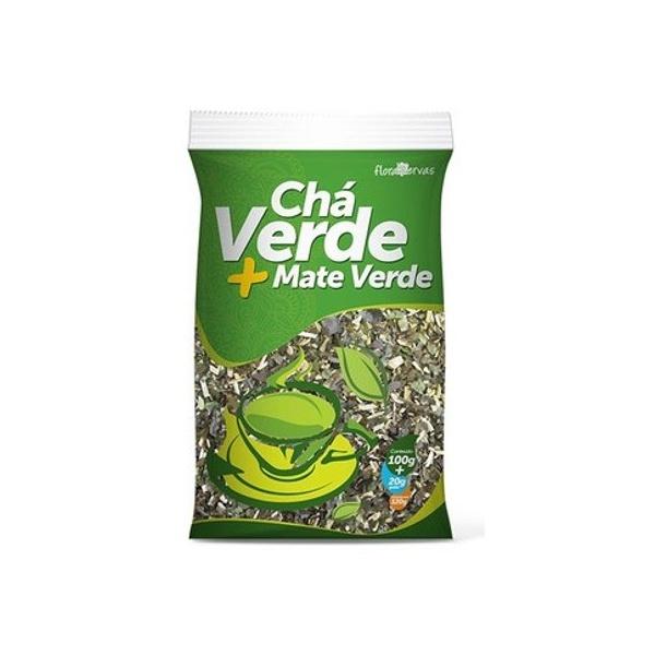Chá Verde + Mate Verde 120g