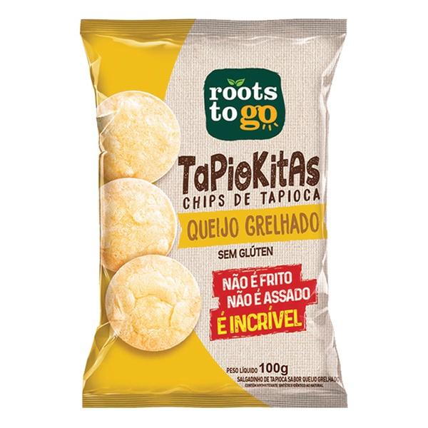Chips de Tapioca Sabor Queijo Grelhado 100g