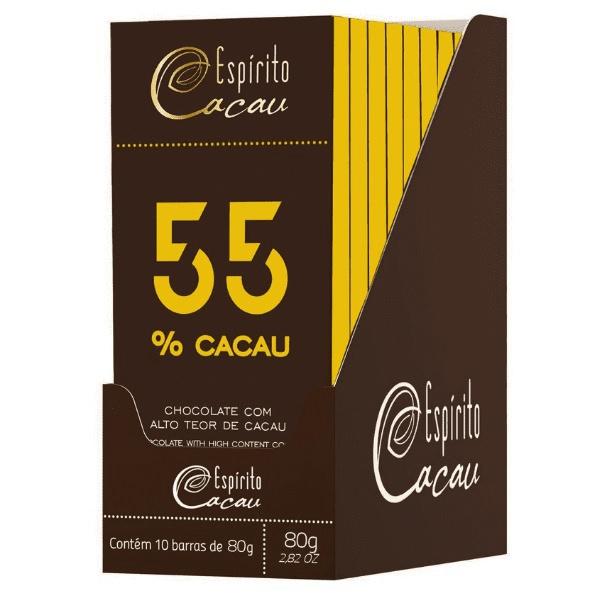 Chocolate 55% Cacau 80g