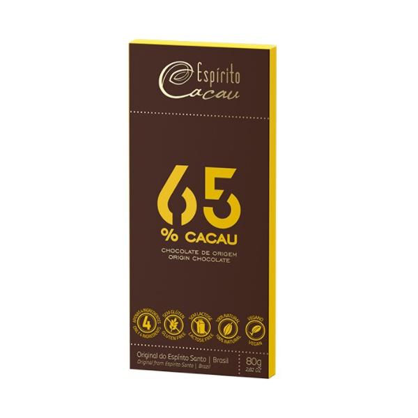 Chocolate 65% Cacau 80g