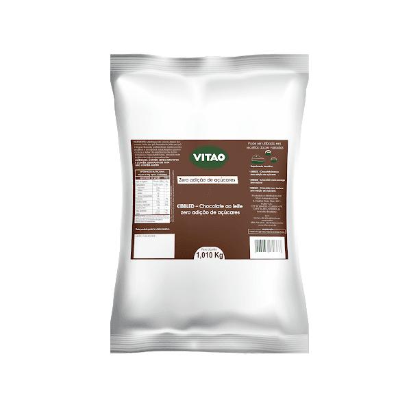 Chocolate ao Leite Zero Kibbled 1,01 Kg
