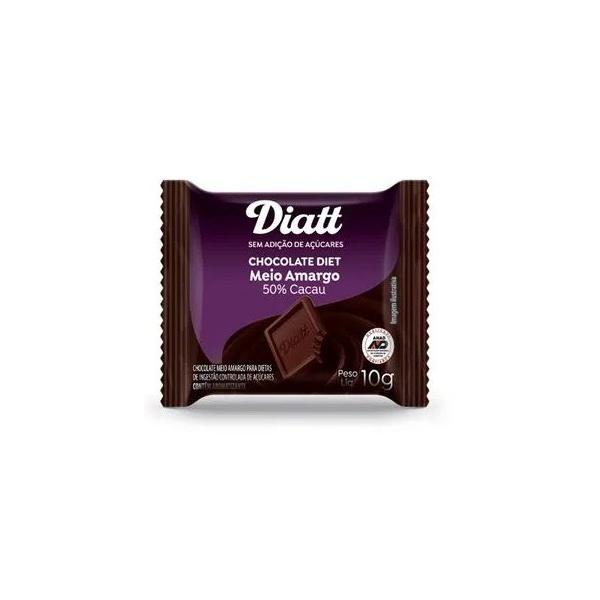 Chocolate Diet Meio Amargo Display 15x10g