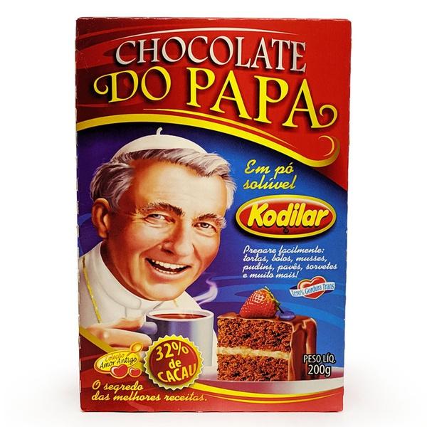 Chocolate do Papa Solúvel Em Pó 200g