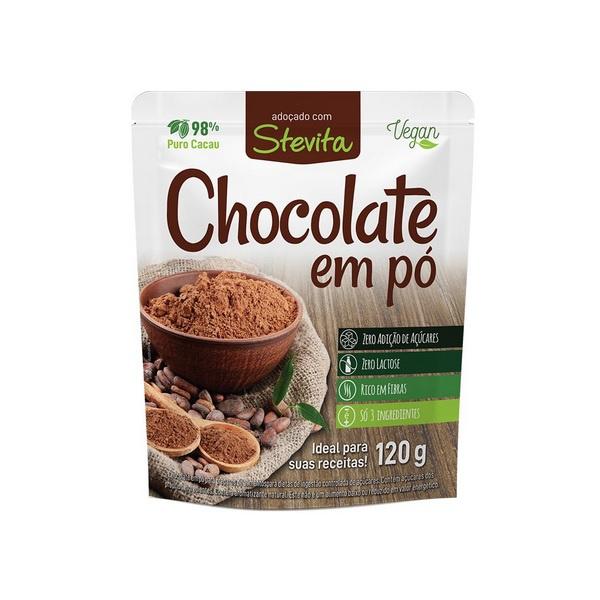 Chocolate Em Pó Stevita 120g