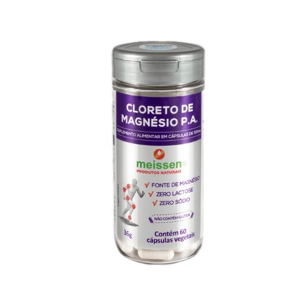 Cloreto de Magnésio 60caps 36g