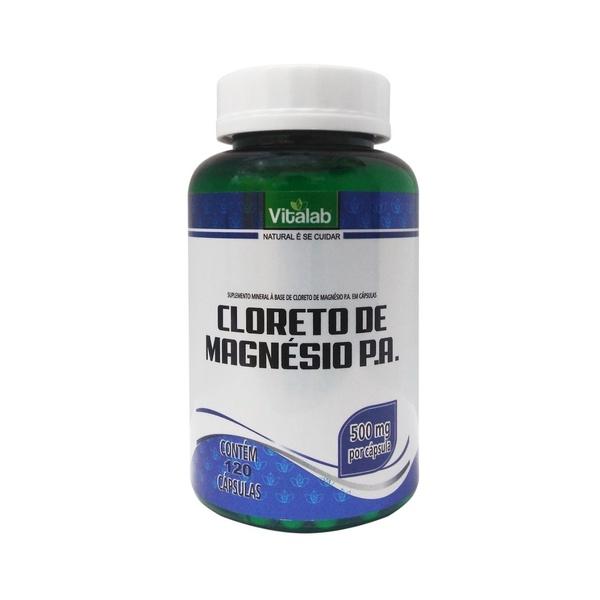 Cloreto de Magnésio P.A. 120 x 500mg