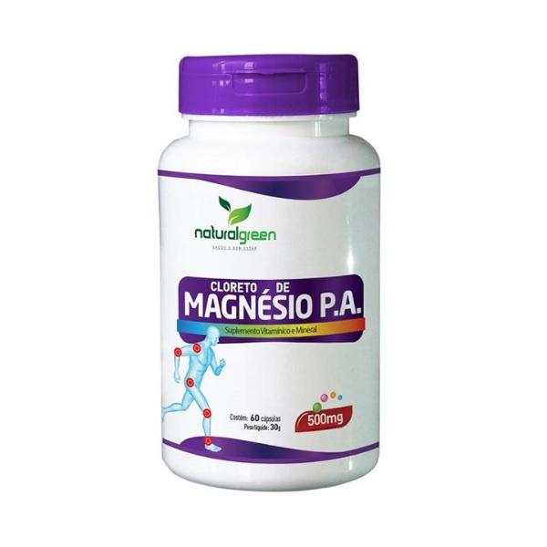 Cloreto de Magnésio PA 60 cápsulas x 500mg