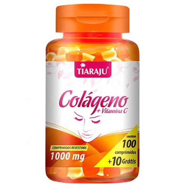 Colágeno com Vitamina C 100comp x 1000mg