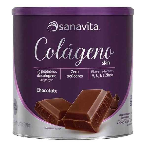 Colágeno Hidrolisado Skin Chocolate 300g