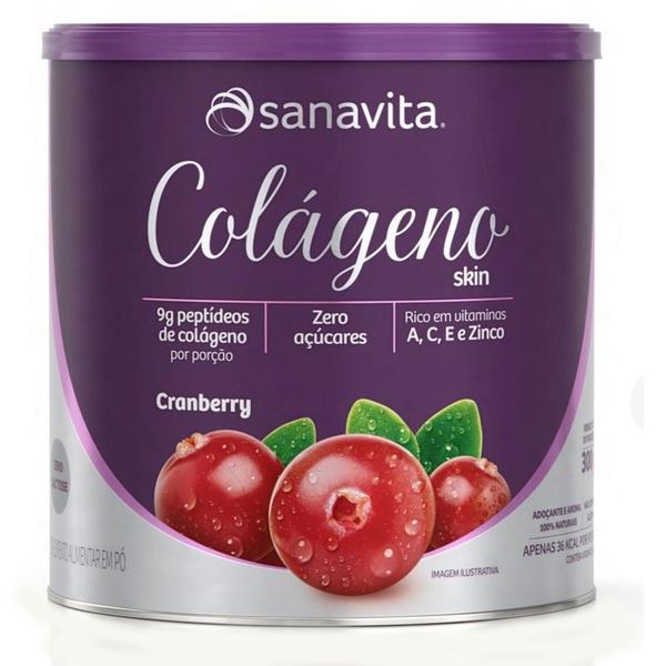 Colágeno Hidrolisado Cranberry Zero 300g
