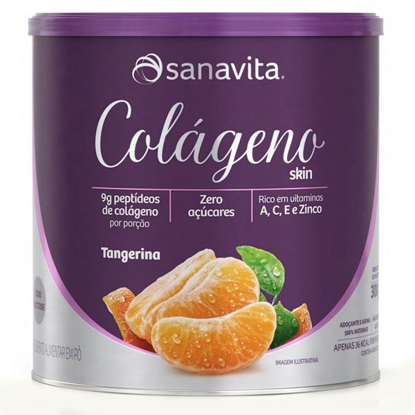 Colágeno Hidrolisado Tangerina Zero 300g