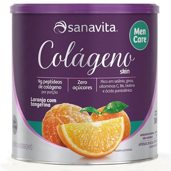 Colágeno Men Care Laranja e Tangerina 300g
