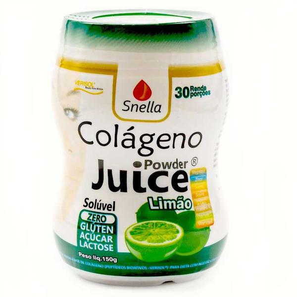 Colágeno Powder Juice Limão 150g