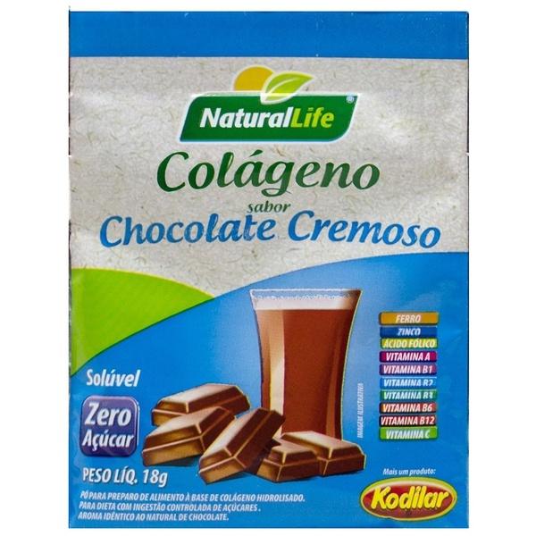 Colágeno Sabor Chocolate Cremoso Display 12x18g