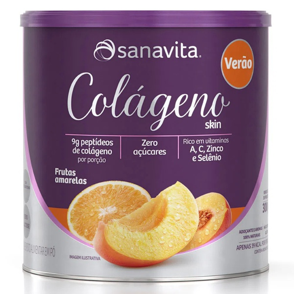Colágeno Verão Frutas Amarelas 300g