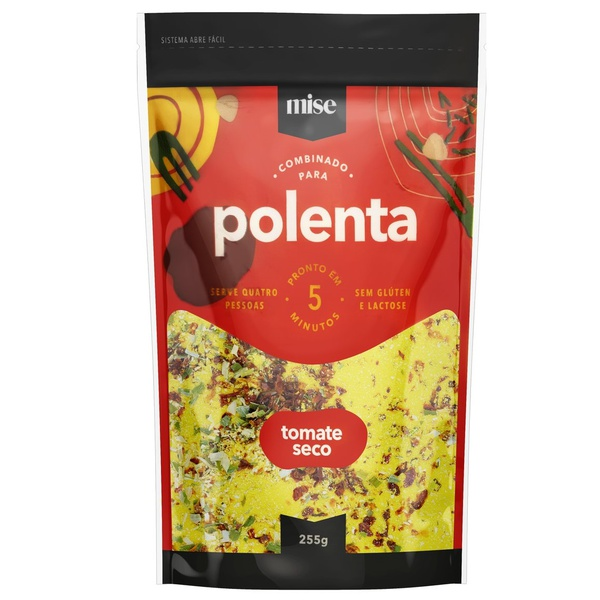 Polenta de Tomate Seco 255g