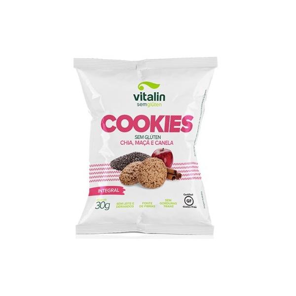 Cookie Sem Glúten Chia, Maçã e Canela Display 12 x 30g