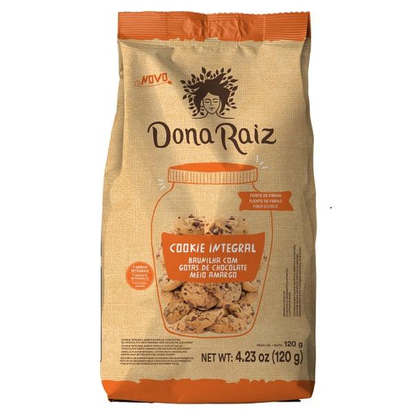 Cookies Integral Baunilha Com Gotas de Chocolate Zero Açúcar 120g