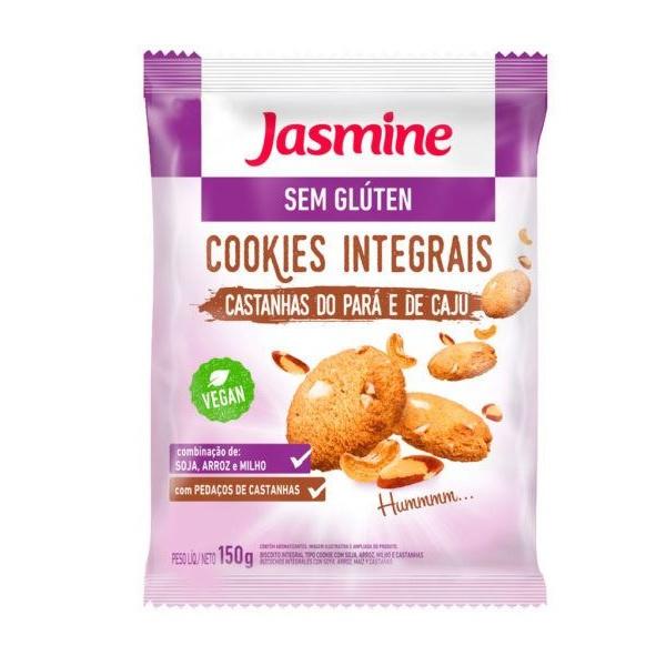 Cookies Castanha do Pará e Caju Integral 150g