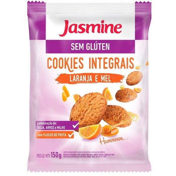 Cookies Integral Laranja com Mel Sem Glúten 150g