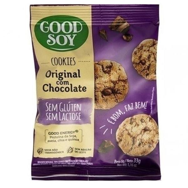 Cookies Original com Chocolate Sem Glúten Display 10un x 33g