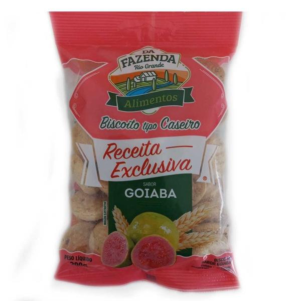 Da Fazenda Biscoito Receita Exclusiva Goiaba 200g