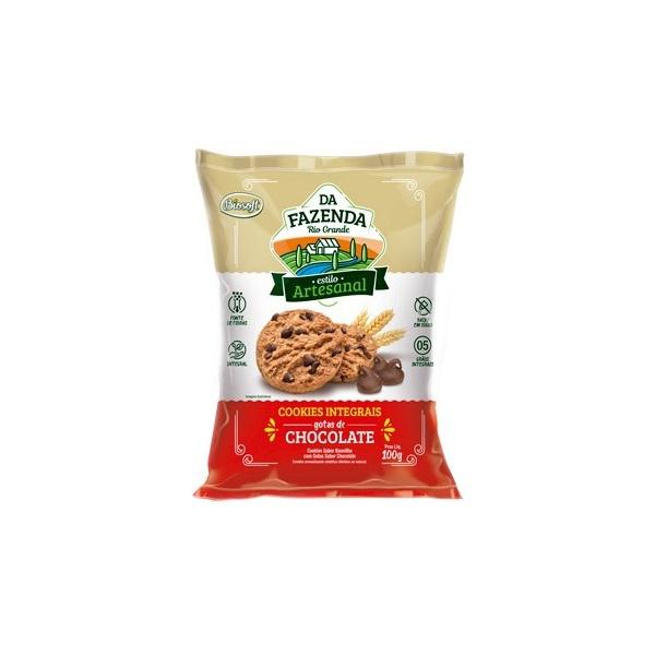 Da Fazenda Cookies Gotas de Chocolate 100g