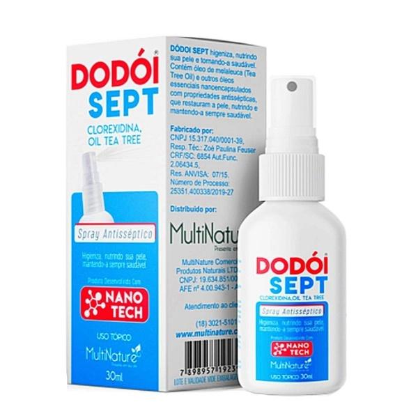 Spray Antisséptico Dodói Sept 30ml