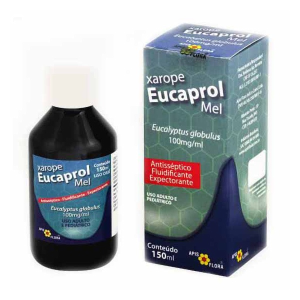 Xarope Eucaprol Mel 150ml