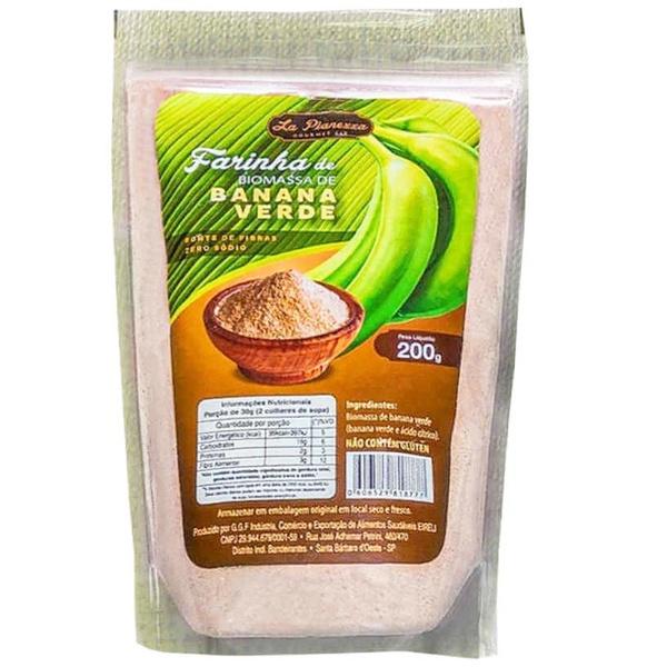 Farinha de Biomassa de Banana Verde 200g