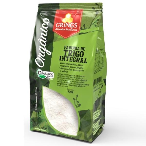 Farinha de Trigo Integral Orgânica 500g