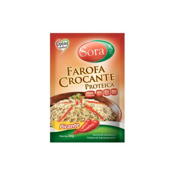 Farofa Crocante Proteica Picante 300g