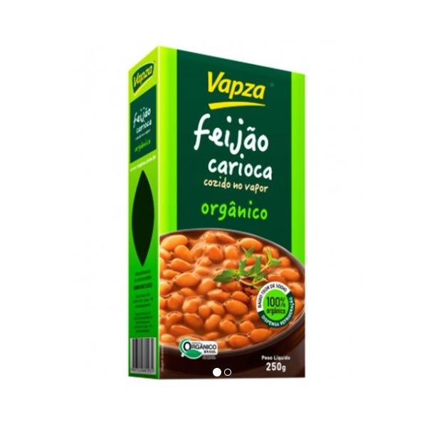 Feijão Carioca Orgânico Cozido no Vapor 250g