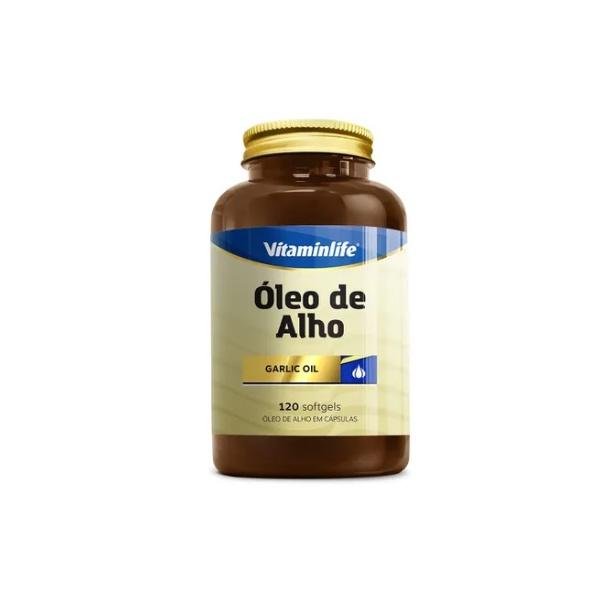 Óleo de Alho (Garlic oil) 120caps x 250mg