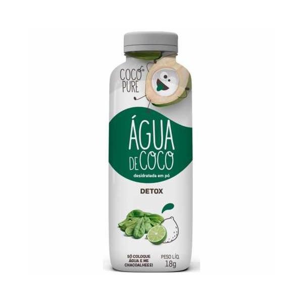 Água de Coco em Pó Detox Vegano 18g