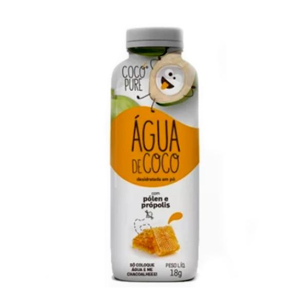 Água de Coco em Pó Pólen/Própolis Vegano 18g