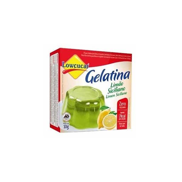 Gelatina Limão Siciliano Zero 10g