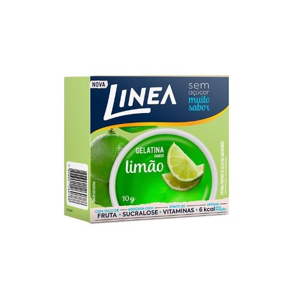 Gelatina Limão Sucralose 10g