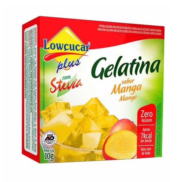 Gelatina Manga Com Stevia 10g