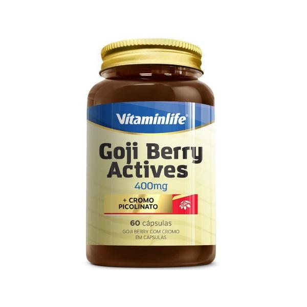 Goji Berry com Cromo 60 cápsulas x 400mg