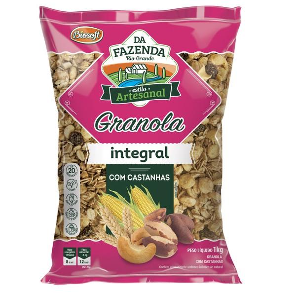 Granola com Castanhas Integral 1kg