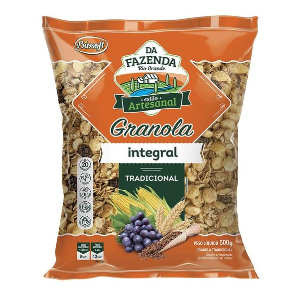 Granola Integral Tradicional 500g
