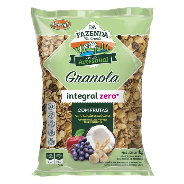 Granola Integral Zero Com Frutas 1kg