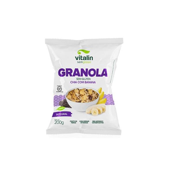 Granola Sem Glúten Chia Banana 200g