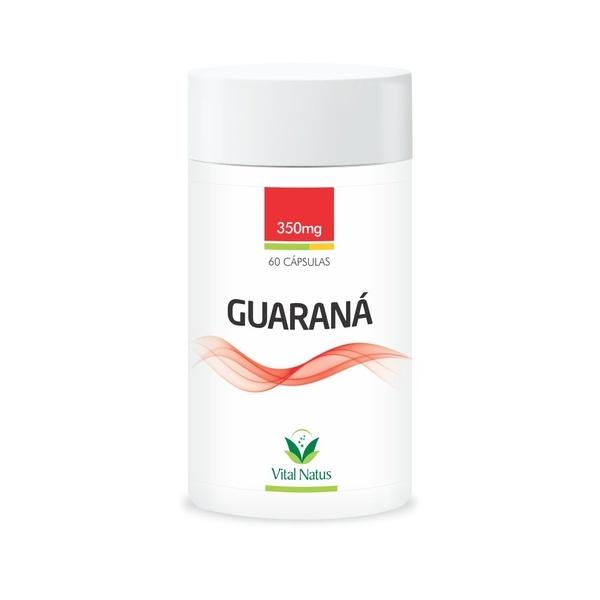 Guaraná 60 cápsulas x 350mg