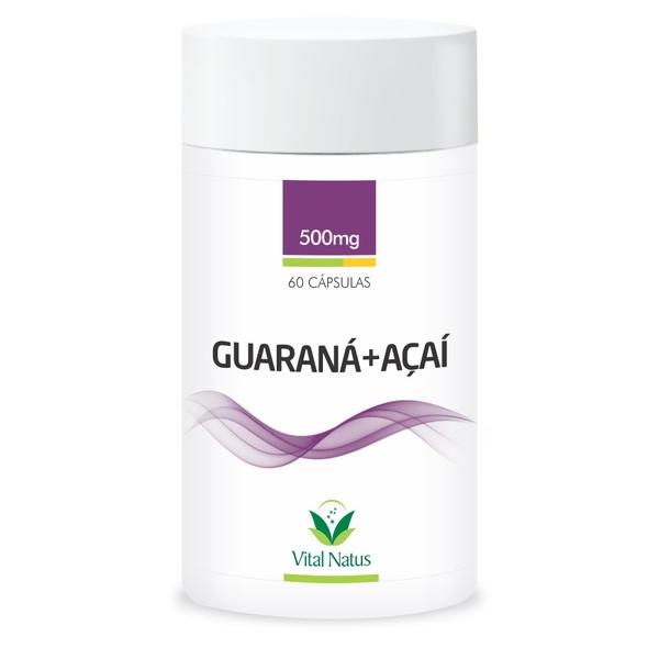 Guaraná Com Açaí 60 x 500mg