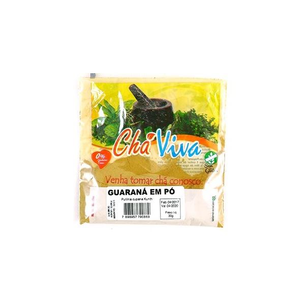 Guaraná em Pó Chá Viva 30g