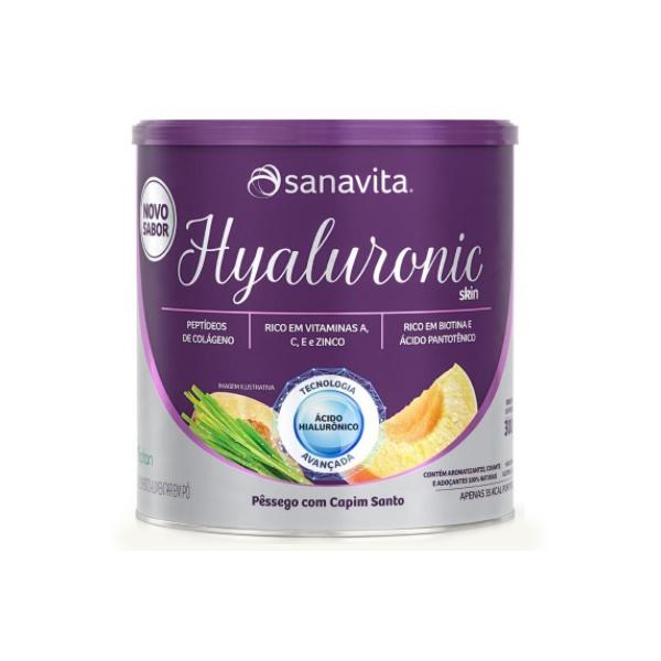 Hyaluronic Skin Pêssego e Capim Santo 300g