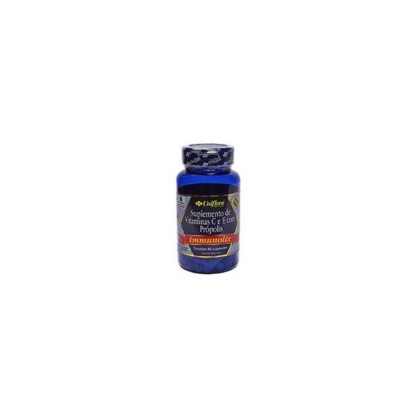 Immunolix Suplemento de Vitaminas C e E com Própolis 60 cápsulas